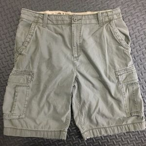 Arizona Cargo Green Cargo Shorts Sz 36